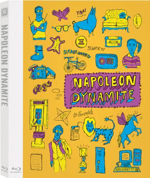 Napoleon Dynamite - 10th Anniversary Special Edition Blu-ray Cover