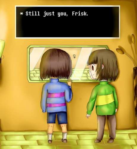 undertale frisk and chara wallpaper chara undertale wallpapers