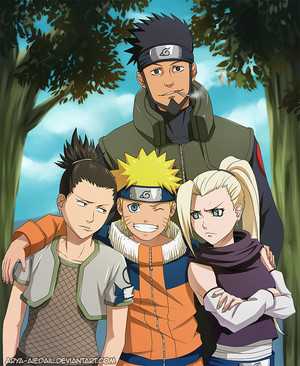 Naruto and team10