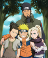 Naruto and team10 - naruto fan art