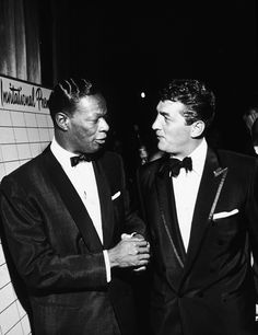 Nat Talking With Dean Martin