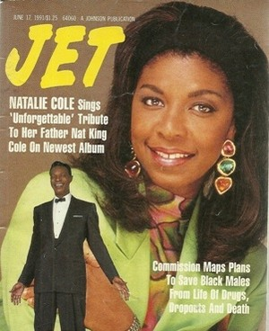 Natalie Cole On The Cover Of Jet