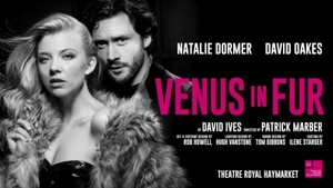 "Natalie Dormer and David Oakes at ""Venus in Fur"" Poster"