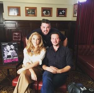 """Natalie Dormer and David Oakes at """"Venus in Fur"""" Press Junket"""