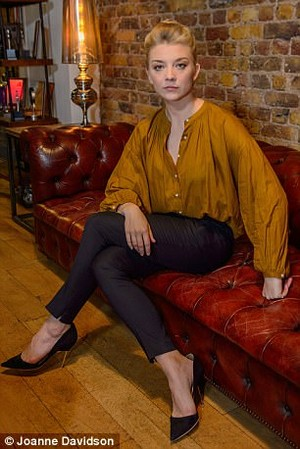 Natalie Dormer at Daily Mail Photoshoot