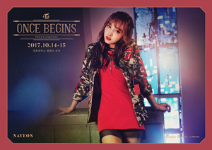Nayeon for 'Once Begins'