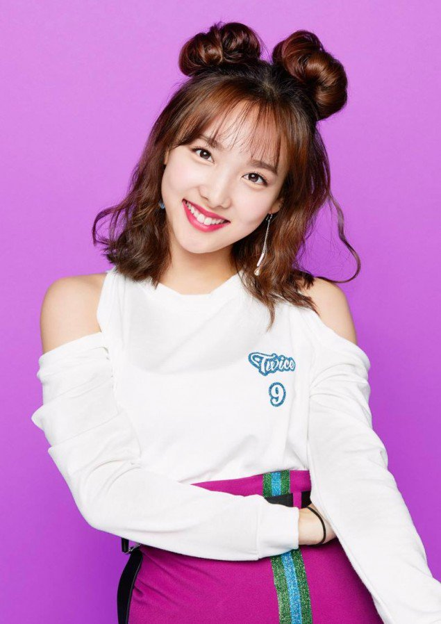 Nayeon teaser images for 'One More Time'