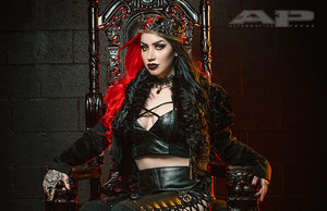 New Years Day's Ash Costello in Ap Magazine Photoshoot