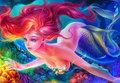 Ocean Nights - Ariel - disney-princess fan art