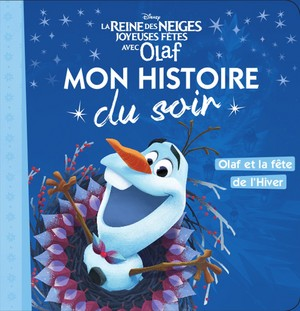 Olaf's アナと雪の女王 Adventure Book Covers