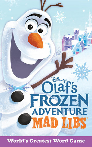 Olaf's फ्रोज़न Adventure Book Covers