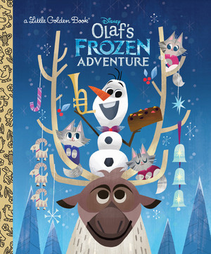 Olaf's 겨울왕국 Adventure Book Covers