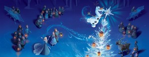 Olafs frozen Adventure - Storybook Illustration