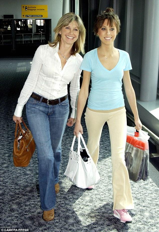 Olivia  And Daughter  Chloe Lattanzi