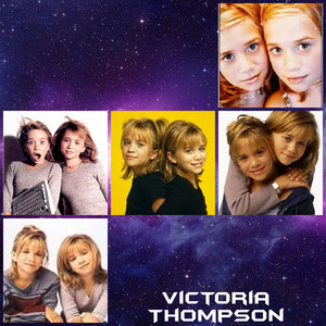 Olsen twins collage