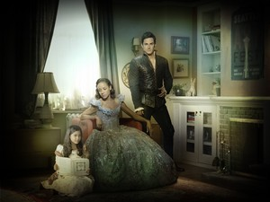 Once Upon a Time Lucy, CInderella and Henry Mills Season 7 Official Picture