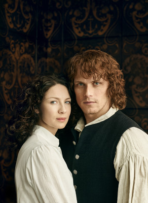Outlander Claire and Jamie Fraser Season 3 Official Picture