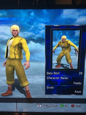 Paddy in Soul Calibur 5