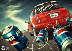 Pepsi Recycle Ads