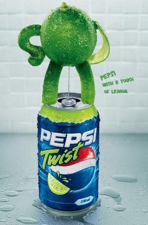 Pepsi Twist Ads