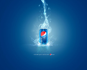 Pepsi achtergrond