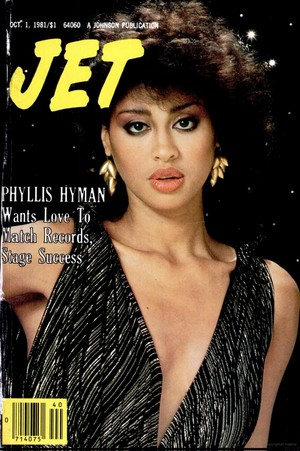 Phyllis Hyman On The Cover Of Jet