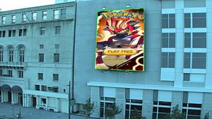 Pokemon Mega in Billbord