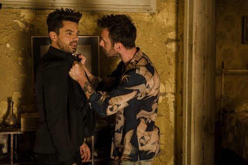 """Vampire Cassidy (Preacher Character) Hintergrund called Preacher """"Backdoors"""" (2x11) promotional picture"""