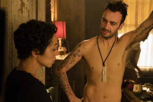 "Vampire Cassidy (Preacher Character) Hintergrund entitled Preacher ""Dirty Little Secret"" (2x10) promotional picture"