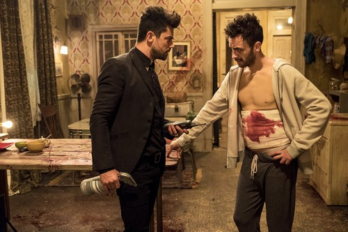 """Vampire Cassidy (Preacher Character) achtergrond called Preacher """"Puzzle Pieces"""" (2x09) promotional picture"""