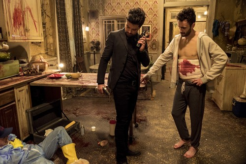 """Vampire Cassidy (Preacher Character) Hintergrund called Preacher """"Puzzle Pieces"""" (2x09) promotional picture"""