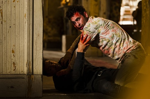 """Vampire Cassidy (Preacher Character) Hintergrund titled Preacher """"The End Of The Road"""" (2x13) promotional picture"""