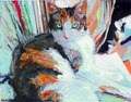 Pretty Calico - cats fan art