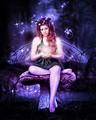 Purple Fairy - fairies fan art