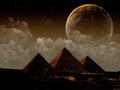 Pyramids at Giza by KDH - egypt wallpaper