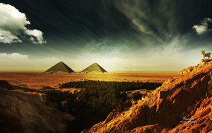 Pyramids par Deinha1974