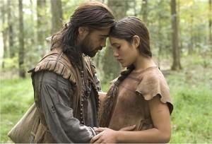 Q'orianka Kilcher as Pocahontas in The New World (2006)