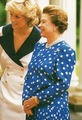 Queen Elizabeth II & Princess Diana - queen-elizabeth-ii photo