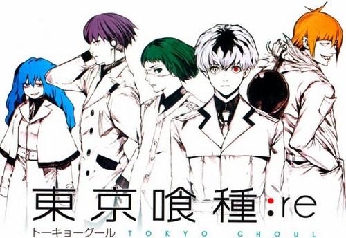Tokyo Ghoul:re پیپر وال entitled Quinx Squad