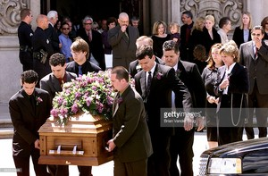 Robert Urich's Funeral In 2002