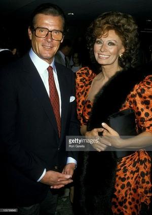 Roger And Sophia Loren