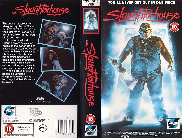 SLAUGHTER HOUSE (VHS)