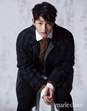 SONG JOONG KI COVERS MARIE CLAIRE SPECIAL EDITION FOR OCTOBER 2017
