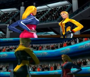 SSX Tricky Elise vs Marisol Butt