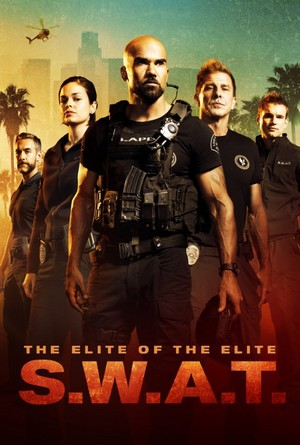 SWAT - Season 1 Poster - Deacon, Chris, Hondo, Luca and kalye