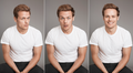 Sam Heughan at Harper's Bazaar Photoshoot