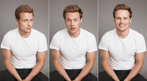 Sam Heughan wallpaper titled Sam Heughan at Harper's Bazaar Photoshoot