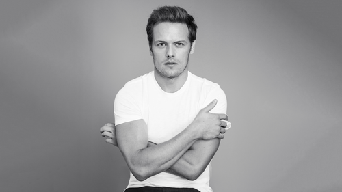 Sam Heughan wallpaper entitled Sam Heughan at Harper's Bazaar Photoshoot