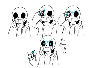 Sans' Eyes