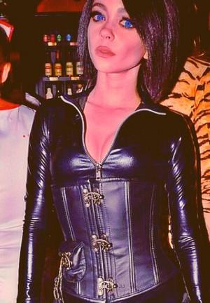 Sarah as Selene for Halloween <3